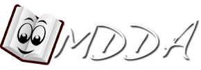 Logo MDDA, Marlborough District Dyslexia Association